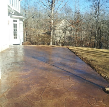 STAMPED CONCRETE PATIO GLENDALE AZ